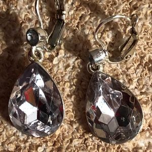 Hand made clear stones set in silver